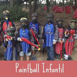 Castillos Hinchables Paintball Infantil
